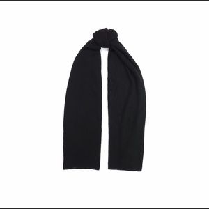 Autumn Cashmere 100% cashmere black travel wrap
